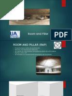 Presentación PPT Room and Pillar.