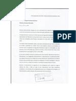 Carta a Alicia Kirchner Por Desnutrición