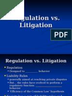 Regulation vs Litigation - Carmen