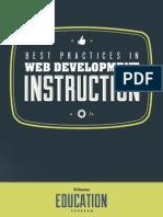 Best Practices for Web Design Instruction eBook