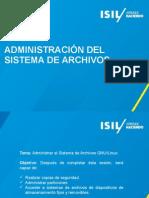 PPT10 Administracion de Sistema de Archivos (1)