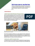 INFORME- PRÁCTICAS CON EL POLÍMETRO, Realizado Por Diego Castro Freire y Rubén Lado Martínez, 4ºA (1)