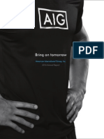 AIG 2014 Annual Report