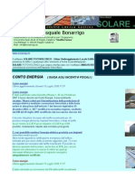 Software Solare Fotovoltaico