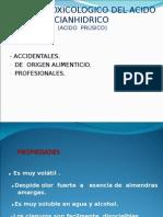 Ultima Clase de Toxicología Clase Hcn 02-12