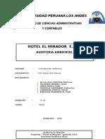 Trabajo Auditoria Conta Ambiental Auditoria Sindicato.empresa .. 3 1