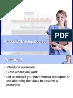 desa preceptor course portfolio
