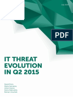 IT Threat Evolution Q2 2015 ENG