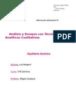 Equilibrio Quimico-Informe de Aetac
