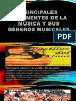 Principales exponentes de la música y sus géneros.pptx