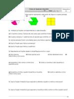 Ficha Revião Adição e Subtração de Frações