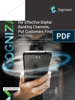 For Effective Digital Banking Channels Put Customers First