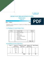 Question Paper_1-(3-3-2009)