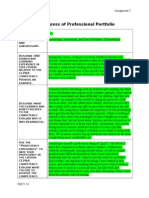 nfdn2005 a-3 report on progress of professional portfolio-pediatrics