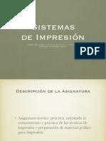 Sistemas de Impresion, orígenes y evolución