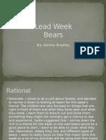lead week