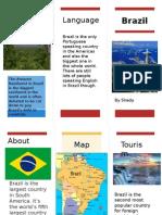 Spanish Brazil Leaflet