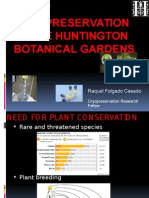 Plant Cryopreservation at HBG