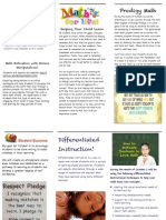 le2 october newsletter summary pamphlet