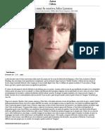 35 Anni Fa Moriva John Lennon