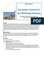 TOP LIRE - NACE TOP LIRE Corrosion Control in the Refining Industry - Sept2012