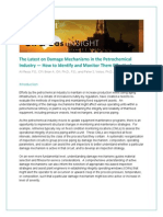 TOP Risk - The Latest on Damage Mechanisms in the Petrochemical Industry