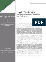 Dialnet-HaroldPlenderleithAndTheConservationOfAntiquitiesA-4947363