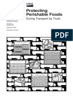 Protecting Perishable Foods During Transport by Truck