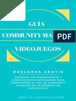 Guia Community Manager Videojuegos