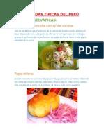 Comidas Tipicas Del Perú