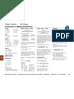 Conversion of Measurement Units