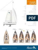 Specifications Hanse 315 282413 (1)