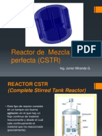 Reactor CSTR