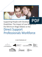 NYSARC Minimum Wage Issue Paper