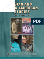 University of Illinois Press Spring 2010 Asian and Asian American Studies Book Catalog