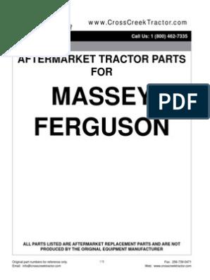 231 240 240S 20F 253, R//H 20D 1884286M97 Massey Ferguson Parts Fender 250