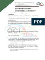 CONCURSO CAPITO en CONCRETO 2 Concretos Livianos de Alta Resistencia