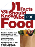 16209967 101 Facts You Should Know About Food by John Farndon