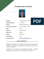 Hoja de Vida Ramiro Esteban Cuellar