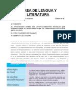 Tarea de Lengua y Literatura