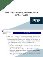 2911201311480035IFRS - Teste de Recuperabilidade