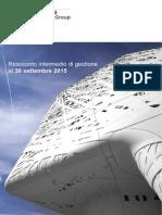 ITALCEMENTI 2015 GESTIONE 3 TRIMESTRE ITC_3_TRIMESTRALE_2015_ITA