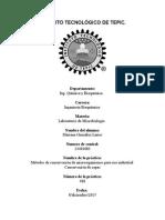 Practica 18 Metodos de Concervacion de Microorganismos Parauso Industrial