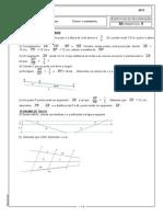 Exercícios Recuperação Geometria 9ºano 2015