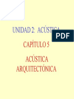 Acústica Arquitectonica
