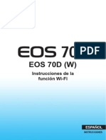 EOS 70D Wi-Fi Function Instruction Manual ES