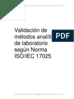 Texto de Validacion de Instrumentos Iso-17025