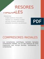 Compresores Radiales