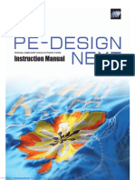 Pedesign Next Instruction Manual