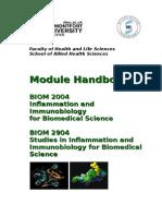BIOM2004 Module Handbook 2015 2016 (1)